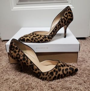 bbd360ba4129 J. Crew Shoes - J. Crew Colette d Orsay pumps in Leopard Calf